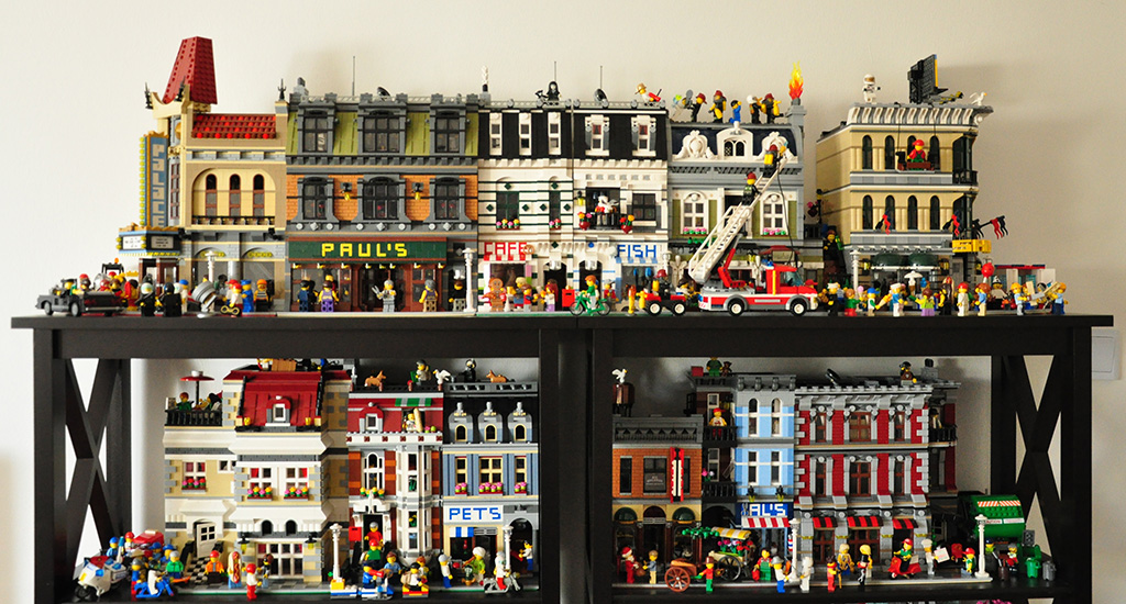 How Do You Display Your Modular Building Collection